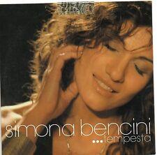 SIMONA BENCINI CD single PROMO 1traccia TEMPESTA sigillato 2006 cardsleeve ELISA