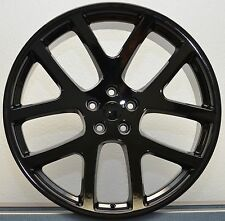 24 Viper SRT Style Wheels Dodge Gloss Black Rims Magnum 300C Challenger Charger