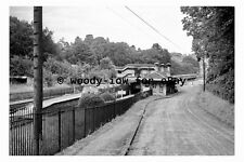 bb0501 - Box Railway Station , Wiltshire in 1963 - photograph