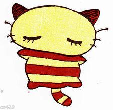 "3.5"" HELLO KITTY SANRIO SWEET CORON  CHARACTER FABRIC APPLIQUE IRON ON"
