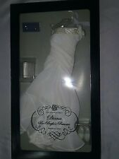PRINCESS DIANA WHITE CHIFFON GOWN FRANKLIN MINT HARD TO FIND FOR TONNER DOLL