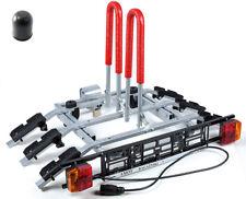 Bike Rack Cycle Carrier Towbar Mounted Tilting option for 3 bikes AMOS Tytan 3