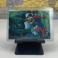 SHIPS SAME DAY 1995 Fleer Ultra Spider-Man Daredevil The Venom Flows #100 Played