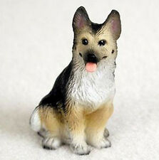 GERMAN SHEPHERD (BLACK TAN) TINY ONES DOG Figurine Statue Pet Lovers Gift Resin