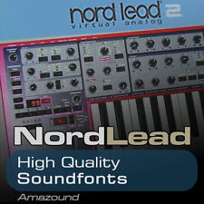 NORDLEAD 2 SOUNDFONT COLLECTION 99 SF2 FILES + 80 PERC SAMPLES MAC PC FL LOGIC