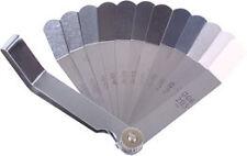 Laser 2483 Feeler Gauge Imperial/Metric 12 Blades Offset