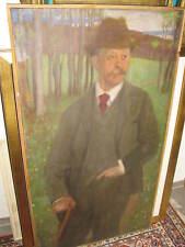 STUCK Franz von Umkreis, um 1900 Stehender vor Seenlandschaft