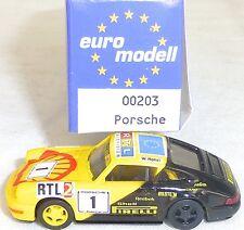 Porsche 911  1993 SHELL Nr1 IMU EUROMODELL 00203 H0 1/87 OVP # GA5   å