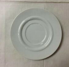 "ROSENTHAL ""CUPOLA"" LARGE SAUCER 6 1/4"" (HOTELWARE) WHITE PORCELAIN NEW GERMANY"
