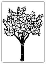 Crafts Too A6 Embossing Folder FLORAL TREE CTFD4004
