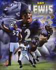 Baltimore Ravens RAY LEWIS Glossy 8x10 Photo NFL Football Print Composite Poster