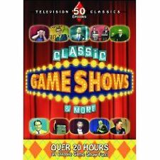 Classic Game Shows  More (DVD, 2009, 4-Disc Set)