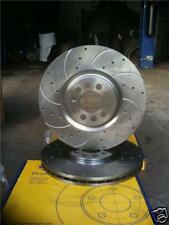 AUDI TT 1.8 TURBO CROSS DRILLED GROOVED BRAKE DISC 312mm