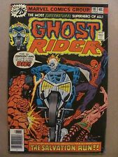 Ghost Rider #18 Marvel Comics 1973 Series Spider-Man app
