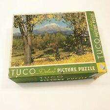 Vintage TUCO Deluxe Picture Puzzle Mount Shasta  Made In USA
