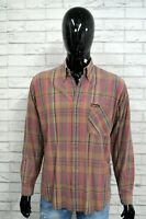 Camicia Uomo MARLBORO CLASSICS Camicetta Maglia Taglia XL Shirt Man Cotone