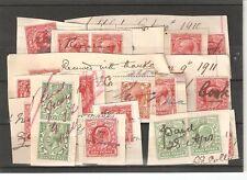 George V (1910-1936) British Fiscal & Revenue Stamps
