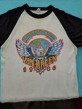 """Van Halen """"Tour of The World 1984"""" T-Shirt Vintage"""