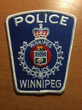 PATCH POLICE CANADA - WINNIPEG ( MANITOBA ) - ORIGINAL!