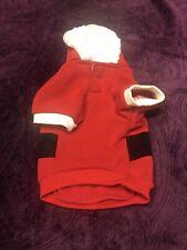 New listing New Ed Ellen Degeneres Dog Apparel Shirt Red Santa Holiday Christmas Small