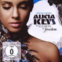 """ALICIA KEYS """"THE ELEMENT OF FREEDOM"""" CD+DVD DELUXE NEW"""