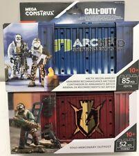 Mega Construx Call of Duty solo mercenario puesto militar & jungla Satcom