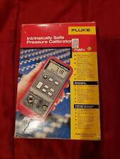 Fluke 718EX-100 Intrinsically Safe Pressure Calibrators 100 PSIG w/ 700 ILF