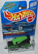 Virtual Collection Cars OSHKOSH CEMENT TRUCK green/bl. 1:64 Hot Wheels 133/2000