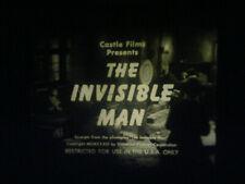 """SUPER 8 SOUND-""""THE INVISIBLE MAN""""-CLAUDE RAINS-CASTLE FILMS 200' DIGEST"""