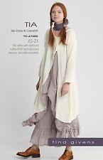 TIA SLIP & OVERLAY SHIRT SEWING PATTERN, from Tina Givens, *NEW*