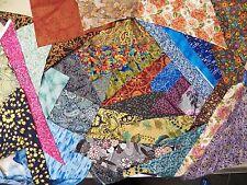 Metallic Fabric Scrap Pack - 100% Cotton fabric - 4 POUNDS