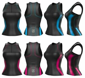 Womens Top Triathlon Tri Tank Running Cycling Swimming Skin Suit for ladies