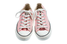 CONVERSE CHUCK TAYLOR ALL STAR Canvas Low Women's Shoes Pink Size 8 (Men 6)