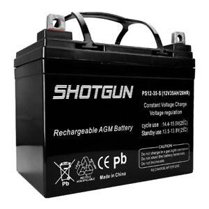 Shotgun 12V 35AH GEL Replacement Battery for Sevylor Minn Kota Marine