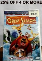 Open Season (DVD, 2007, Canadian Special Edition, Eng/Fre)~25% Off 4 Or More!