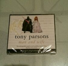 MAN AND WIFE ☆ TONY PARSONS ☆ New + Sealed ☆ AUDIO BOOK ☆ Spoken Word # 3+ Hours