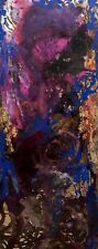 MODERN CONTEMPORARY ABSTRACT PAINTING BY GONIEL (19'' X 48'')