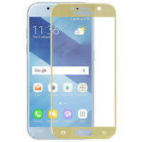 Ultra-tough Tempered Glass Film Galaxy A3 2017 Curved Sides - Gold