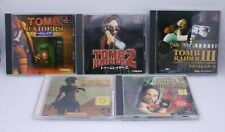 PS1 Tomb Raider 1 2 3 4 5 5pcs Importado de Japón PLAYSTATION 1 Lara Croft