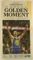 2015 WARRIORS WIN NBA FINALS San Francisco Chronicle Newspaper CHAMPIONS June 17