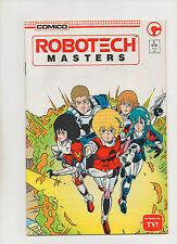 Robotech Masters #1 - As Seen On Tv! - (Grade 9.2) 1985