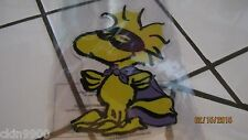 SNOOPY HALLOWEEN GEL WINDOW CLING WOODSTOCK WITH MASK CUTE