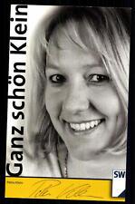 Petra Klein Autogrammkarte Original Signiert ## BC G 9953