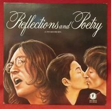 JOHN LENNON REFLECTIONS AND POETRY 2 LP 1st Copy Limited No. 003836