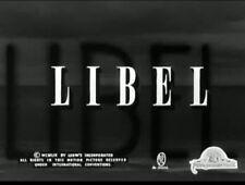 16MM FEATURE, LIBEL 1959, MGM,  DIRK BOGARDE, OLIVIA DE HAVILLAND