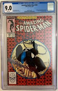 The Amazing Spider-Man #300   CGC 9.0     1st Appearance Of Venom!   Copper Age