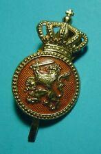 VROEG Goud Pet Embleem KORPORAAL K.L. Nederland - Dutch cap badge other ranks .