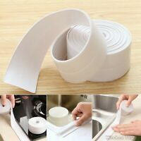 Bath Wall Sealing Strip,Waterproof Self-Adhesive Kitchen Caulk Tape Bathroom