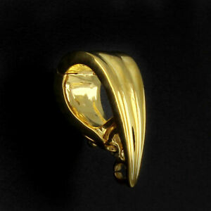 14K YELLOW GOLD OVER BAIL 6 X 15MM FOR PENDANT W/ FINDINGS