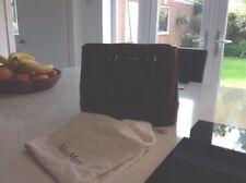 MAX MARA Dark Tan Leather  HANDBAG With Dust Bag